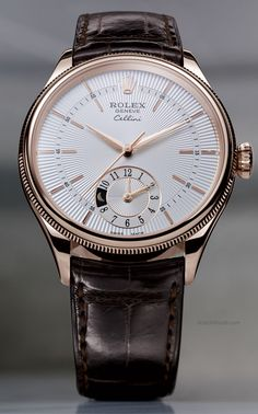 Rolex Cellini Dual Time. Accessories for men fashion. what it Beaty Raddest Men's Fashion Looks On The Internet: http://www.raddestlooks.org