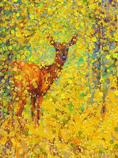 Les Peintures à l'Huile au doigt par Iris Scott (4)
