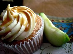 Caramel Apple Cupcakes - Your Cup of Cake