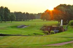 Leigh Swann, Head Greenkeeper at Trentham Park Golf Club, Staffordshire,