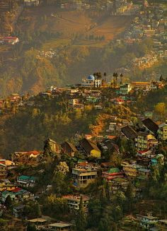 ✯ Darjeeling, India ✯ I love darjeeling tea! Had no idea it is a real place