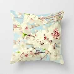 Falling for Spring Throw Pillow by Lisa Argyropoulos - $20.00