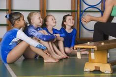 How to Teach Gymnastics to Children. Make sure that any preschool gymnastics class or Introduction to gymnastics class that you enroll your child in is safe and fun! We want your child to come back. How To Do Gymnastics, Flips Gymnastics, Gymnastics At Home, Gymnastics Lessons, Gymnastics Routines, Preschool Gymnastics, Gymnastics Coaching, Gymnastics Party Games, Tumbling Gymnastics