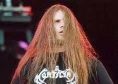 one of my favorite pictures of george. i used to have this on my old myspace pag Cannibal Corpse, Creatures Of The Night, Thrash Metal, Death Metal, Metal Bands, Black Metal, Natural Makeup, My Music, Lol