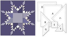 Needles 'n' Knowledge: Feathered Star Quilt Block Construction Tutorial