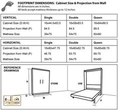 """Determine additional relevant information on """"murphy bed diy"""". Visit our internet site. Murphy Bed Desk, Murphy Bed Plans, Diy Murphy Bed, Murphy Bed Kits, Best Murphy Bed, Cabinet Dimensions, Bed Dimensions, Bathroom Dimensions, Cama Murphy Ikea"""
