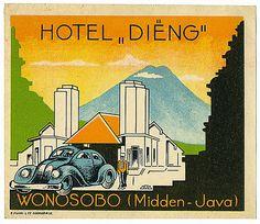 Hotel Dieng, Wonosobo/Java