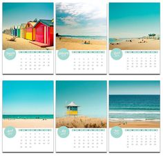 2013 photo calendar  5x7 nautical calendar mini by mylittlepixels