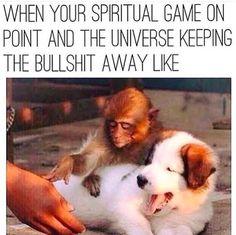 Spiritual game on point