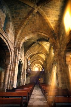 Interior de la Iglesia de Valdedios by Mariluz Rodriguez Alvarez on 500px