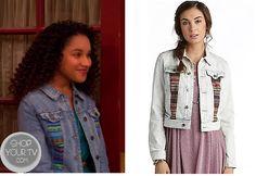 Shop Your Tv: Good Luck Charlie: Season 4 Episode 3 Lauren's Aztec Denim Jacket