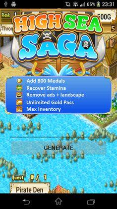 High Sea Saga Hack (APK) | Games Hooks