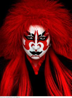 10 Stage-Worthy Character Makeup Designs | Beautylish This is my favorite.