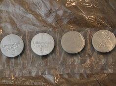 Pack of 4 CR1632 Batteries for SBLED and BLED lights (SBLED322) - Lighting. Over 10,000 similar dolls house miniature products available from www.thedollshousestore.co.uk