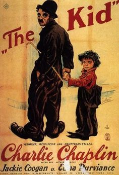 In the middle of nothingness to do, I decided to watch The Kid by Charlie Chaplin and I turned out liking it. This film was one of my favorite Charlie Chaplin films. We Movie, Kid Movies, Film Movie, Classic Movie Posters, Classic Movies, The Kid 1921, Charlie Chaplin Movies, Edna Purviance, Bon Film