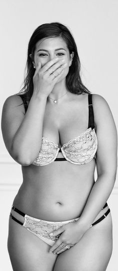 Ashley Graham photographed by Cass Bird for Lane Bryant's #ImNoAngel Campaign.