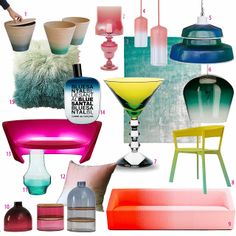 ombre deco style