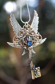 Epic Winter Key Necklace by KeypersCove on Etsy, $65.00