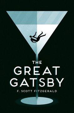 The Great Gatsby - F. Scott Fitzgerald - Bloc Illustration - Book Cover Illustration + Design