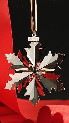 Swarovski Annual Edition SCS Christmas Ornament, 2014