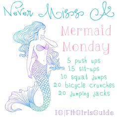 Happy Mermaid Monday! 3-5 sets! Go
