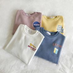 Aesthetic Shirts, Aesthetic Clothes, Teen Fashion Outfits, Cool Outfits, Foto Still, Preppy Style, Korean Fashion, Shirt Designs, Clothes For Women