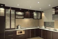 beige-lacquer-kitchen-cabinets-and-modern-black.jpg (800×543)
