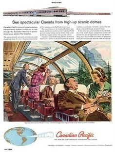 Vintage Train Posters