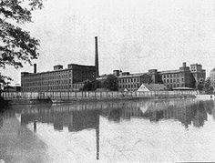Budynek przędzalni na Księżym Młynie, fot. II połowa XIX w