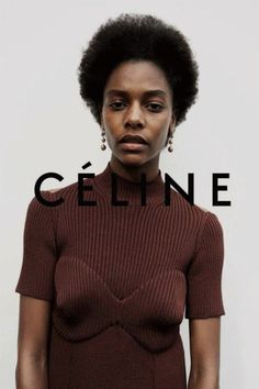 Juergen Teller for Celine Fall/Winter Ad campaign Fashion Details, Look Fashion, Fashion Beauty, High Fashion, Fashion Design, Net Fashion, Juergen Teller, Fashion Advertising, Advertising Campaign