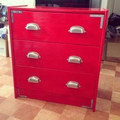My version of the Ikea Rast Hack! Retro '50s furniture DIY. #rast #ikea #hack