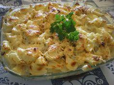 A culinária da Missy : Bacalhau gratinado