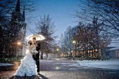 winter wedding  Matt Shumate Photography