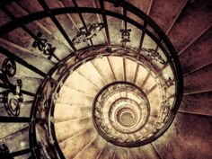 Hungary, Budapest, St; Stephen Cathedral (Szent Istvan Bazilika), Staircase to Dome Photographic Print by Michele Falzone at AllPosters.com