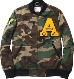 Supreme Cadet Varsity Jacket
