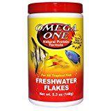 Omega One Freshwater Flakes, 5.3 oz.
