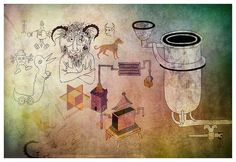 Alchemical reflections, with special guest star the Goat of Mendes