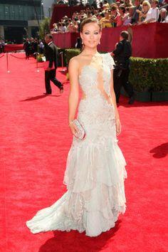 Olivia Wilde vestindo Marchesa, Emmy Awards 2009