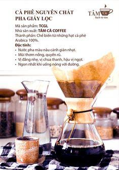 brochure giới thiệu cà phê Tâm Cà - cafe rang xay nguyên chất Hải Phòng
