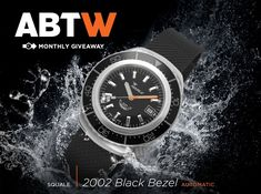 Winner Announced: Squale 2002 Collection 1000 Meter Automatic Dive Watch #Giveaway - see who on aBlogtoWatch - Congrats to the lucky winner of our recent Squale 2002 Collection 1000 Meter Automatic Dive watch giveaway. Thanks again to everyone who entered, and don't miss your chance to enter our current awesome watch giveaway...!