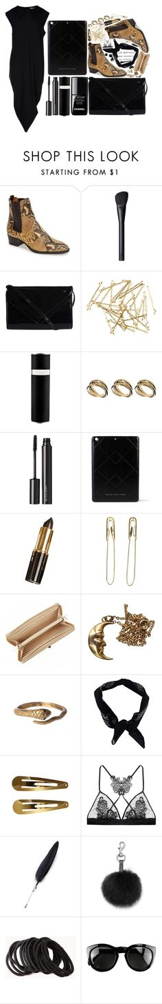 """Style // 186"" by juliaaaasparkle ❤ liked on Polyvore featuring Yves Saint Laurent, NARS Cosmetics, le top, Pieces, H&M, Eight & Bob, ASOS, Witchery, Marc by Marc Jacobs and Tom Binns"