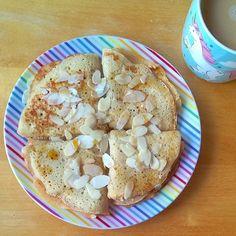 Vegprojekt: Špaldové palačinky / Spelled creppes Base Foods, Plant Based Recipes, Cereal, Vegan Recipes, Breakfast, Breakfast Cafe, Plant Based Meals, Vegan Dinner Recipes