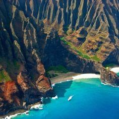 Na Pali Coastline Kauai, Hawaii