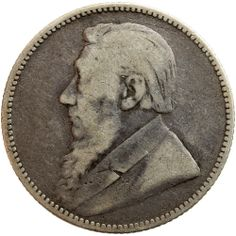 1892 ZAR South Africa Paul Kruger silver one shilling coin www.numismaticland.co.uk Coin Auctions, Old Coins, African Animals, African History, African Beauty, South Africa, Stamps, Southern, Birds