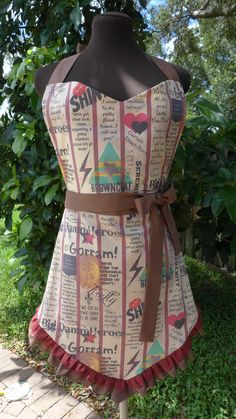 Firefly Apron - Browncoat's Unite - I am pretty sure I would cook more if I had this...
