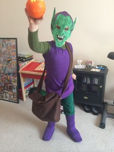 Green goblin adult costume