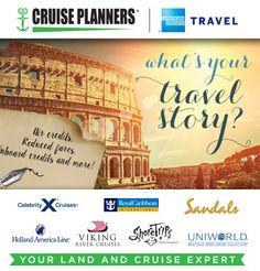 Encounter something wonderful by exploring new destinations around the world. Call me today to make memories that will help tell your travel story.