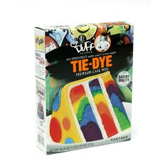 Products | The Essentials | Duff™ Tie Dye Cake Mix | Duff.com- For Rio Birthday cake!