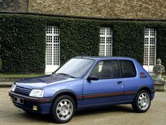Peugeot 205 GTi images - Free pictures of Peugeot 205 GTi for your desktop. HD wallpaper for backgrounds Peugeot 205 GTi car tuning Peugeot 205 GTi and concept car Peugeot 205 GTi wallpapers. French Classic, Classic Cars, Peugeot 205 Gti, Van Car, Top Cars, Car Tuning, Car Pictures, Concept Cars, Cars And Motorcycles