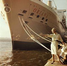1961, By the good ship Oriana